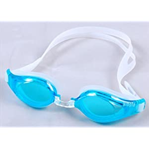 Yingfa Anti-fog Swimming Goggle Glasses Uv Protection Clear Lens--BLUE