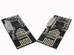 2pcs Leatest 2.4Ghz nRF24L01+ RF Transceiver Module ISM