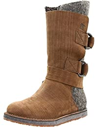 Sorel Women's Leather Mid Calf Insulated Earthy Boot