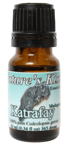 Nature's Kiss Katrafay Madagascar Essential Oil, 10ml
