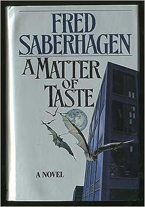 A Matter of Taste (Tor Horror)
