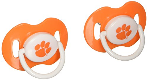 NCAA Clemson Tigers 2 Pack Pacifier