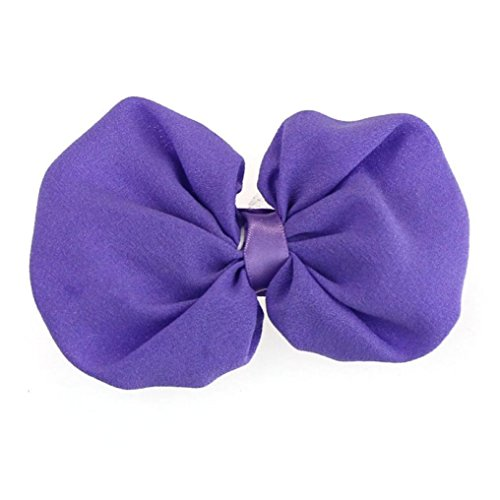 9PCS Babys Hairband, Misaky Chiffon Flower Elastic Headband Photography Headband