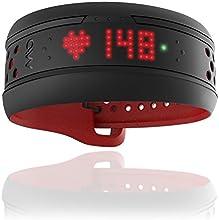 MIO Fuse Tracker d'activités et cardiofréquencemètre sans ceinture Crimson Taille L