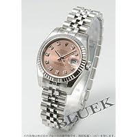 [ロレックス]ROLEX 腕時計 デイトジャスト ダイヤインデックス WGベゼル ピンク Ref.179174G レディース [並行輸入品]