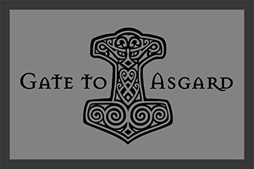 Zerbino Gate to Asgard--Logo