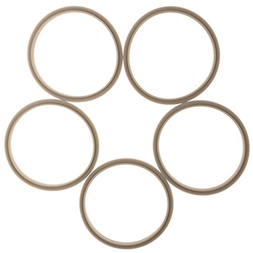 Gaskets for Nutribullet 600 and Pro - Pack of 5 Replacements (Nutribullit Extractor Blade compare prices)