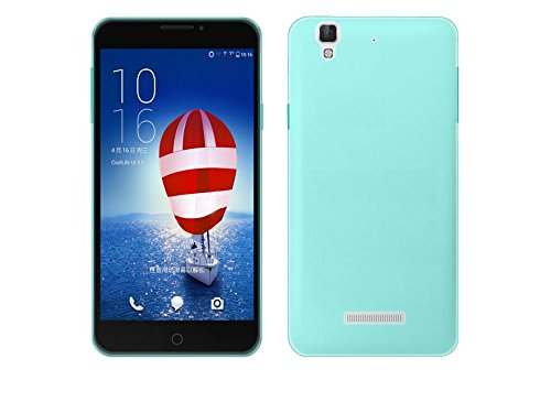 Raaisin Silicon Case for Micromax Yureka(Cyan Blue)