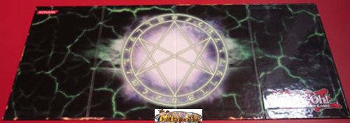 Yugioh Double Sided Collapsible Hard Surface Game Board Featuring The Seal of Orichalcos - 1