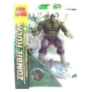 Marvel Zombies Incredible Green Hulk action figures (Marvel Select