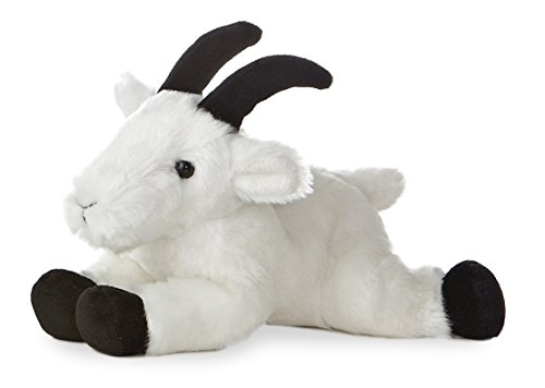 "Rocky Mountain Goat Mini Flopsie 8"" by Aurora - 1"