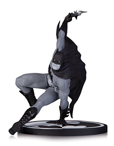 Dc Collectibles Batman Nero & Bianco Statua By Bryan Hitch