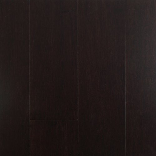 Solid Lock Strand Woven Bamboo Hardwood Flooring Dark Chocolate By EcoFusion Flooring
