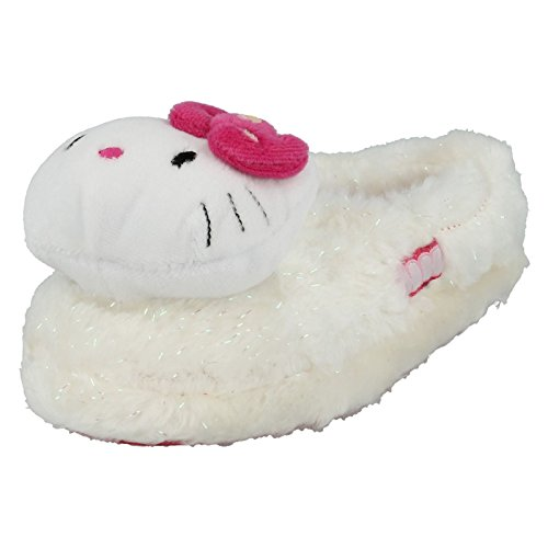 Ragazze Hello Kitty - Pantofole Hello Kitty Mist 3d, multicolore (White / Pink), 39 EU
