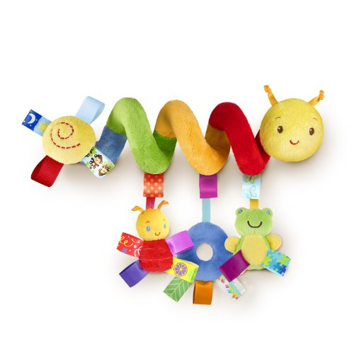 Taggies Go  Me Friends Caterpillar Carrier Toybar