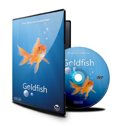 Baby And Kids Dvd - Goldfish Aquarium Shot In Hd With Long Scenes front-337598