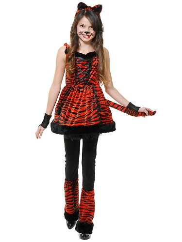 Girls Tiny Tiger Child Costume L