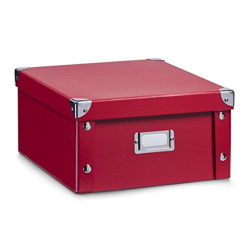 Aufbewahrungsbox-Pappe-M-rot-17917-Aufbewahrungskiste