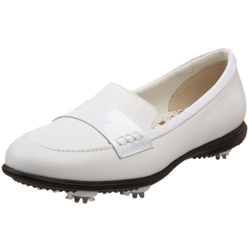 Callaway Women's Couture Moc Golf Shoe,White/White