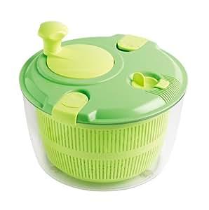 Mastrad F31268 Grosse Salatschleuder grün