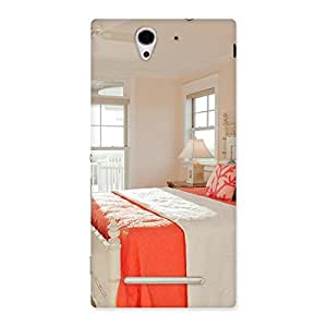 Awesome Bed Back Case Cover for Sony Xperia C3