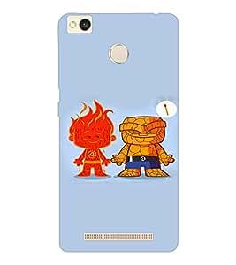 EPICCASE Funny Cases Mobile Back Case Cover For Xiaomi Redmi 3S (Designer Case)