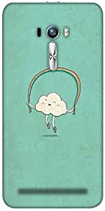 Snoogg Cartoon Cloud Designer Protective Back Case Cover For Asus Zenfone Sel...