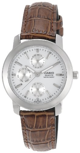 Casio MTP1192E-7A - Reloj para hombres, Correa piel marrón