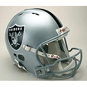 Riddell Oakland Raiders Revolution Authentic Pro Helmet