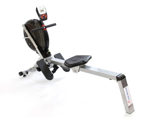 GYM MASTER Cardio ROWING MACHINE - Air Resistance Rower