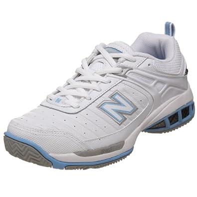 Amazon.com: New Balance Women's WC804 Tennis Shoe,White,13