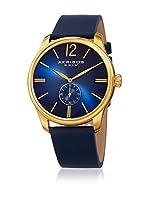 Akribos XXIV Reloj con movimiento cuarzo japonés Man Azul 44 mm