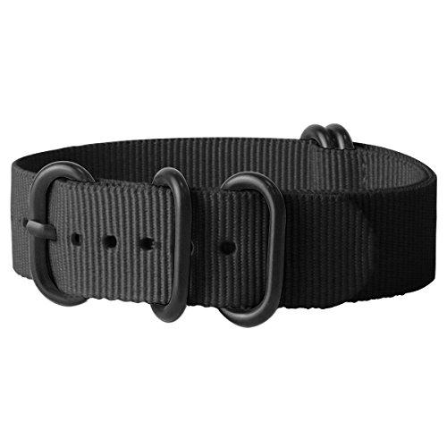 watch-band-replacement-watch-strap-with-stainless-steel-buckle-ballistic-nylon-22mm-choice-of-color-
