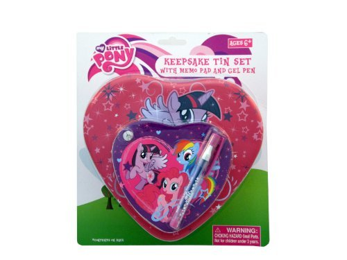 My Little Pony Heart Tin Set - 1
