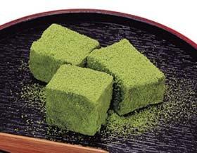 わらび餅<抹茶> 1kg(約60個入)