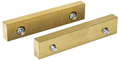 PanaVise 354 Brass Jaws (pair) for 301, 303, 304 And 381 w/screws from Panavise