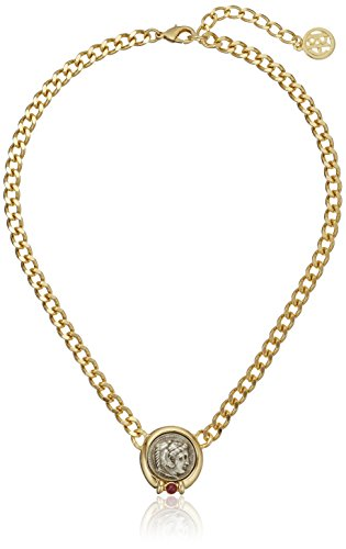 Ben-Amun Jewelry Roman Coin Chain Necklace