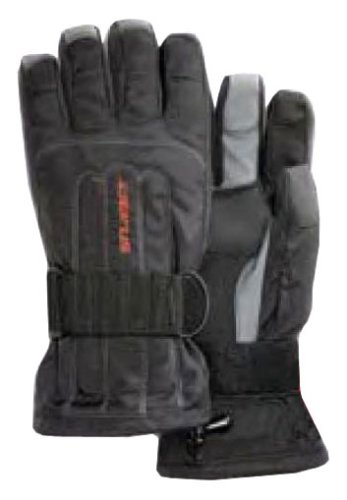 Seirus Innovation 1208 Skelton Winter Cold Weather Glove - Built in Support and Removable Wrist Protection to Prevent Injury