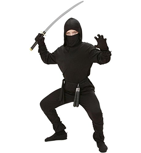 Boys Ninja Costume Outfit for Oriental Chinese Fancy Dress