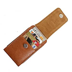 DooDa PU Leather Pouch Case Cover With Magnetic Closure For XOLO Q900s Plus