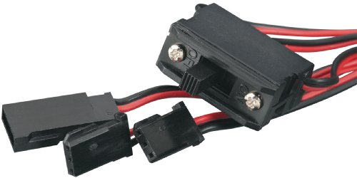 Tactic Switch Harness with Futaba J Charge Lead