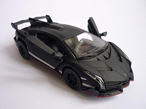 Kinsmart 1:36 Scale Lamborghini Veneno, Gray