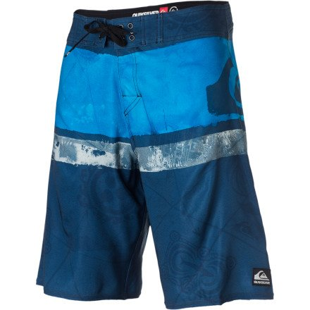 Quiksilver Cypher Kelly Nomad Board Short - Men's Vintage Blue, 28