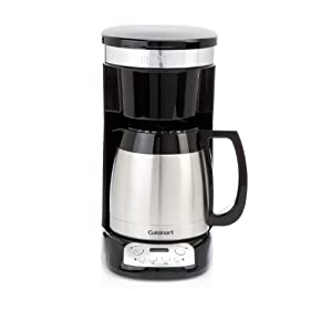 Cuisinart Coffee Maker Thermal Carafe : Cuisinart 10-cup Programmable Thermal Carafe Coffee Maker: Amazon.co.uk: Kitchen & Home