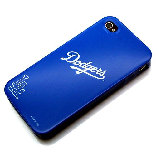 Rix iPhone 4用 MLB公認バックパネル 球団イメージのケース (ドジャース) RX-MLB604LD