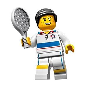 LEGO Figurines à Collectionner: Joueur De Tennis Tactique Mini-Figurine (Olympic Team GB)