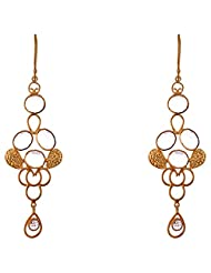 Designers Jewelry Yellow Gold Plated .925 Sterling Silver Earrings For Women - B00R36O8N4