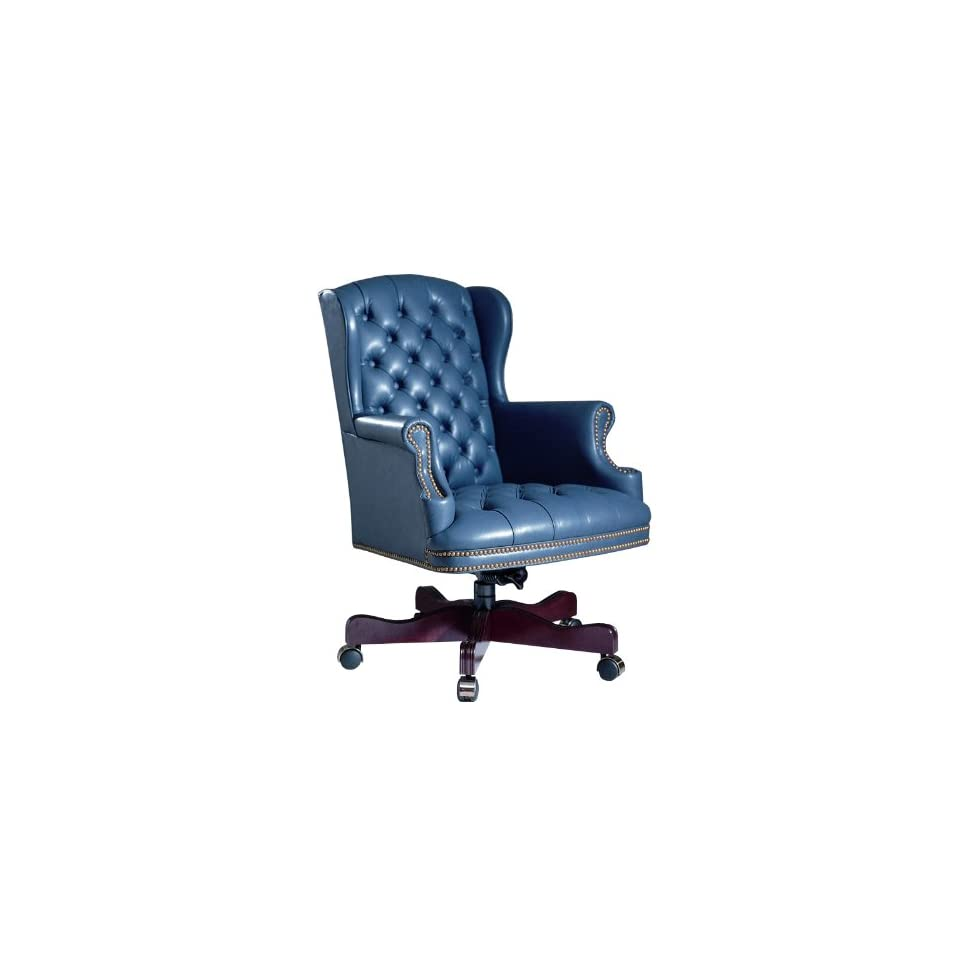 Triune Hamilton Series Wing Executive Swivel Chair with Tufts