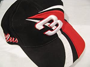 Dale Earnhardt Sr #3 GM Goodwrench Service Plus Hat Black With Red & White... by Chase Authentics