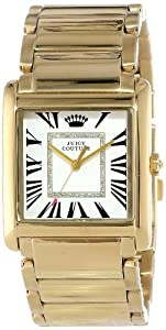 Juicy Couture Women's 1901057 Darby Gold Plated Bracelet Watch